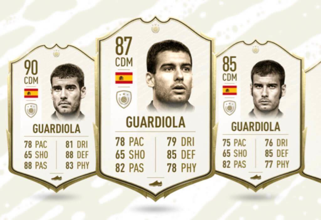 Guardiola Icona in FIFA 20 Ultimate Team