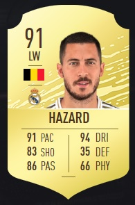 Hazard - FIFA 20 Ultimate Team