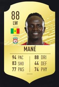 Mané - FIFA 20 Ultimate Team