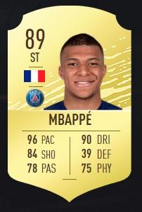 Mbappé - FIFA 20 Ultimate Team