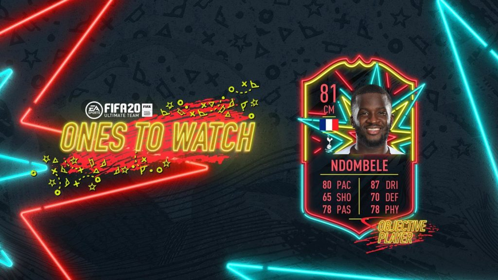 FIFA 20 - Ndombele OTW tramite obiettivi settimanali
