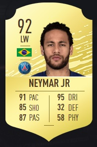 Neymar Jr - FIFA 20 Ultimate Team