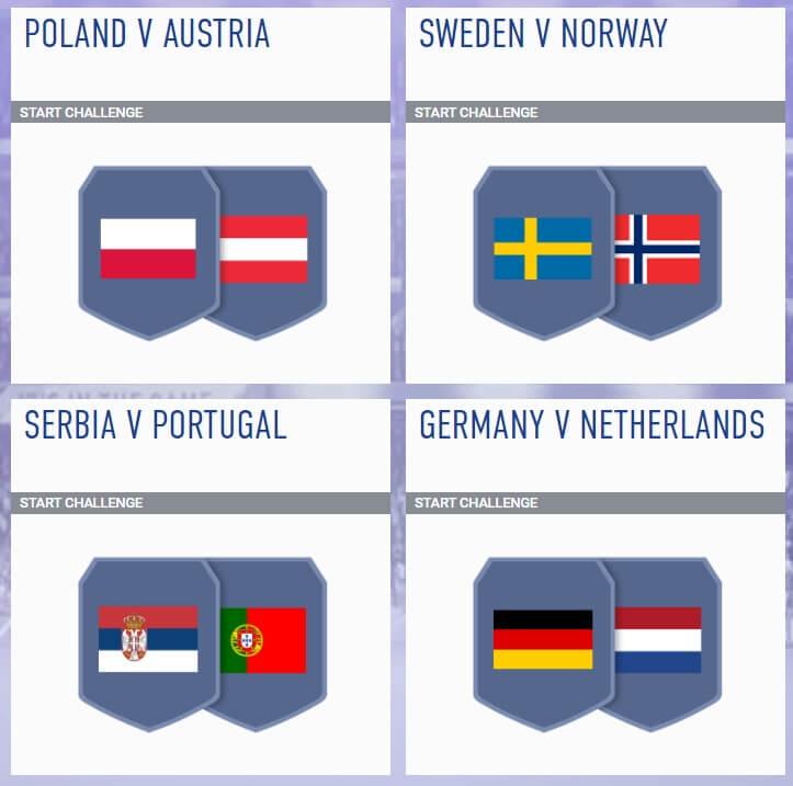 SCR incontri principali del 5 settembre - FIFA 19