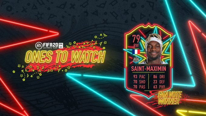 FIFA 20 - Saint-Maximin OTW