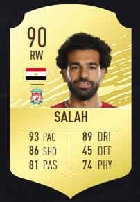 Salah - FIFA 20 Ultimate Team
