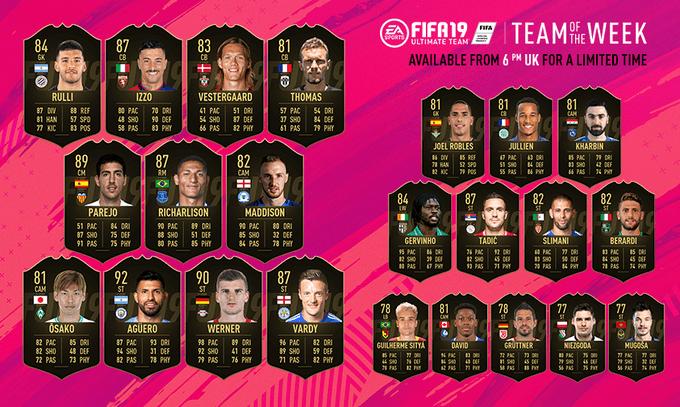 FIFA 19 - TOTW 45