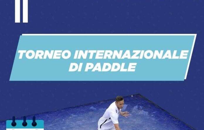 Totti - Torneo internazionale Paddle a Roma