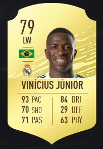 Vinicius Junior - FIFA 20 Ultimate Team