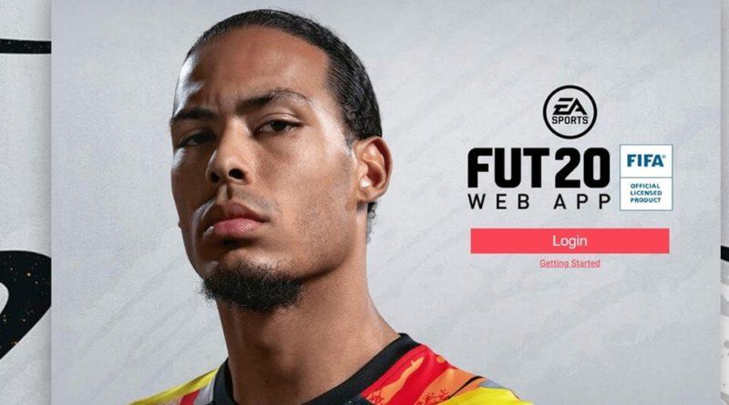 FUT 20 Web App