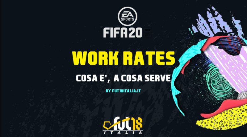 Cos'è il Work Rates su FIFA Ultimate Team