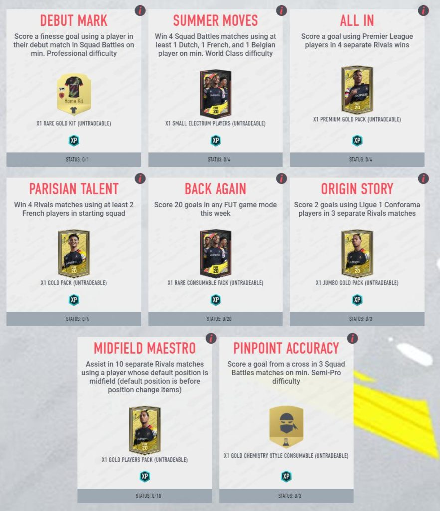 FIFA 20 - Obiettivi per ottenere Ndombele OTW