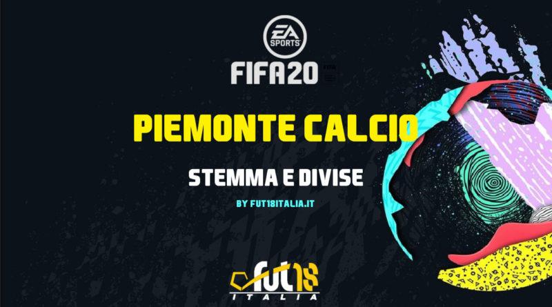 Stemma e kit del Piemonte Calcio in FIFA 20