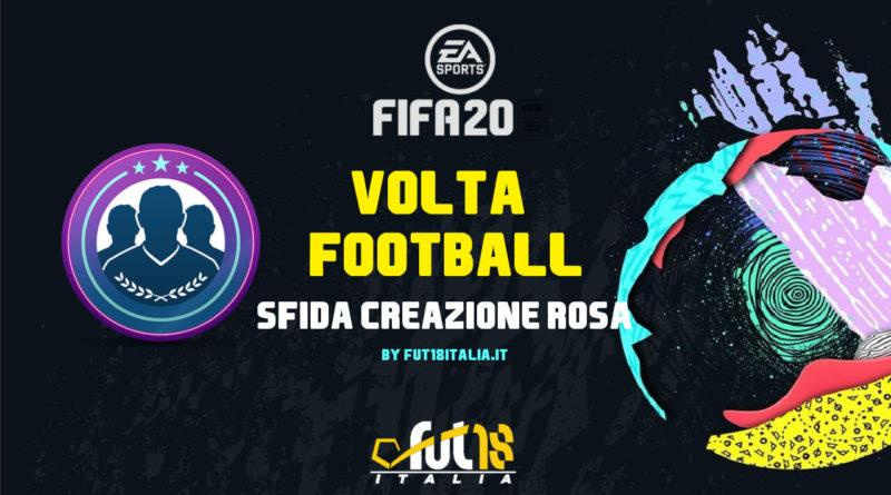 FIFA 20: SBC dedicata a Volta Football