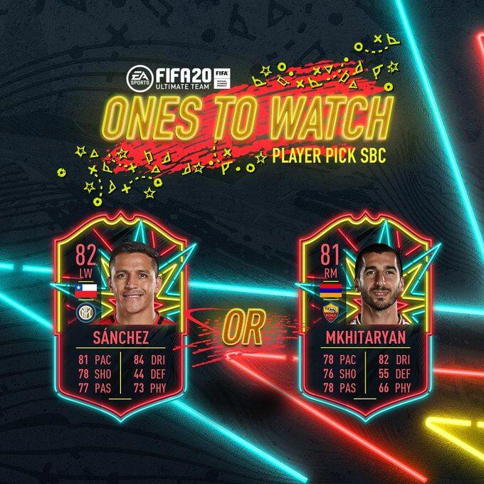 FIFA 20 - Sanchez e Mkhitaryan OTW