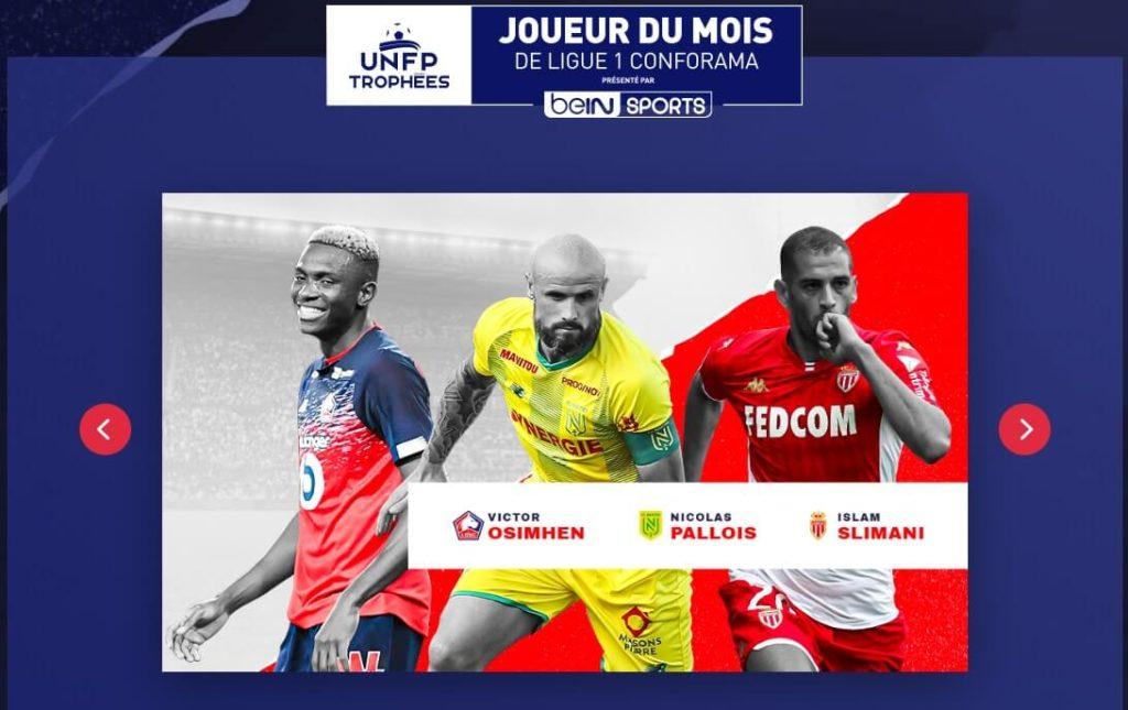 Candidati al POTM della Ligue 1 di settembre