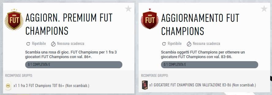 FIFA 20: SCR aggiornamento FUT Champions