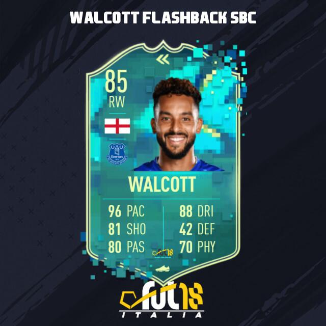 Theo Walcott flashback SBC