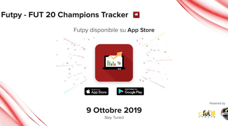 Disponibile ora Futpy app gratuita: tieni traccia della tua Weekend League