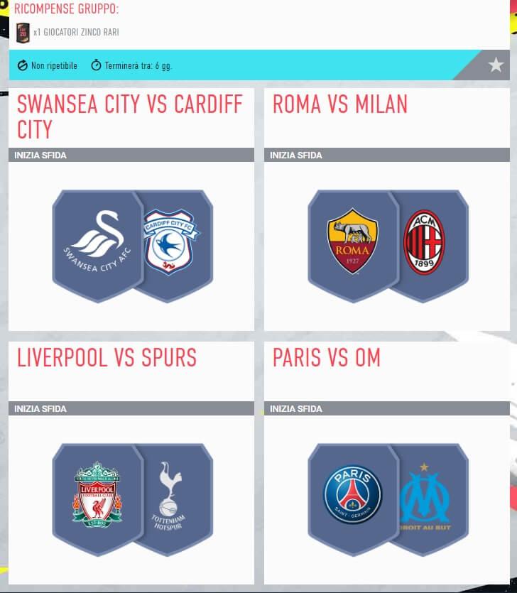 FIFA 20: incontri principali del 24 ottobre