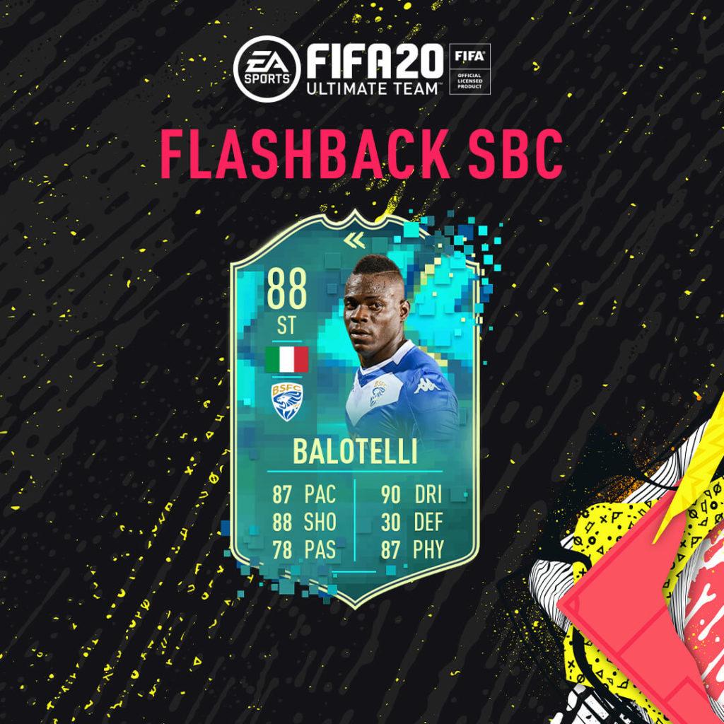 FIFA 20: Balotelli flashback SBC