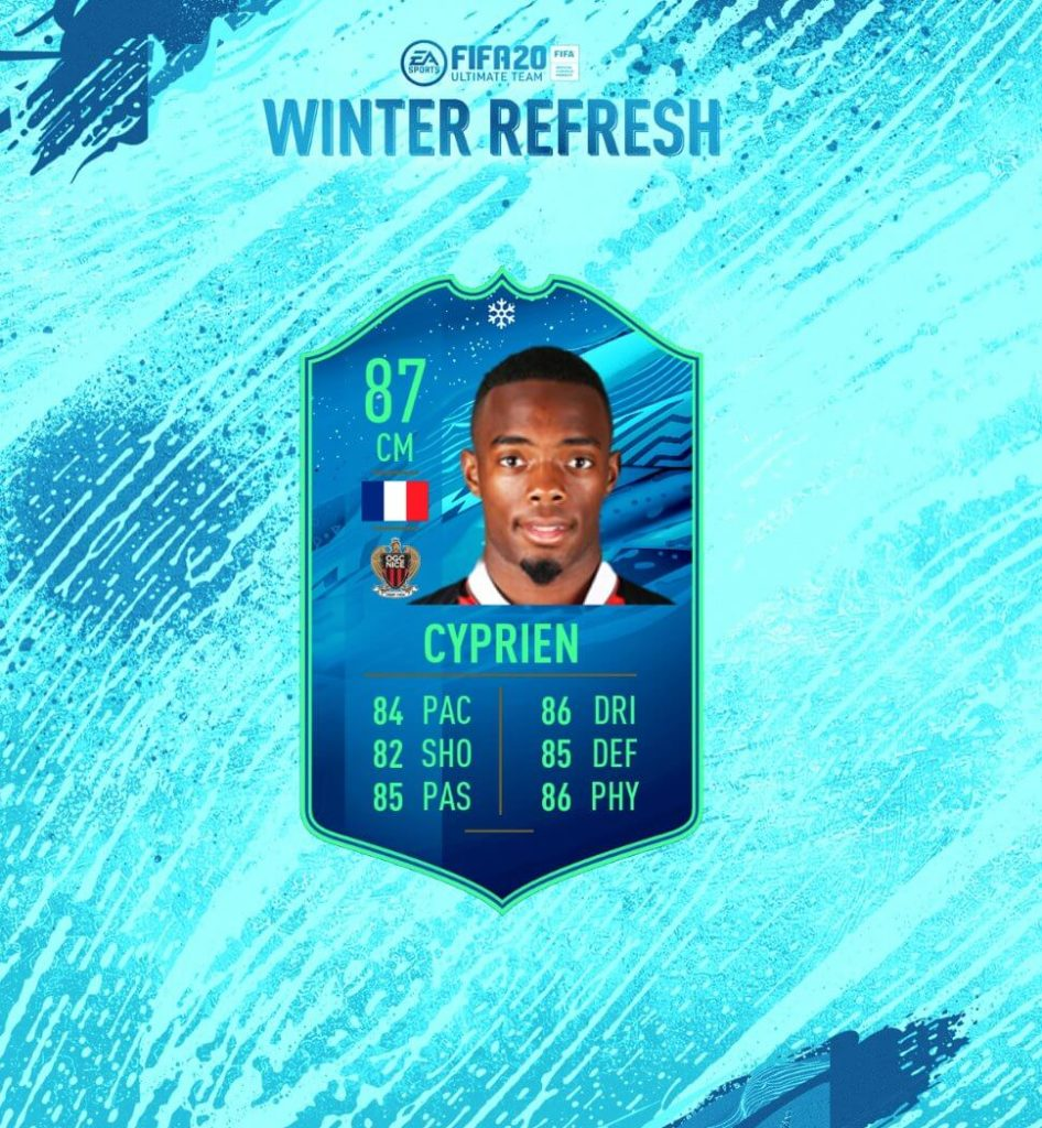 FIFA 20: Cyprien Winter Refresh Ligue 1 SBC