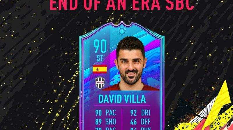 FIFA 20: David Villa Fine di un'Era SBC
