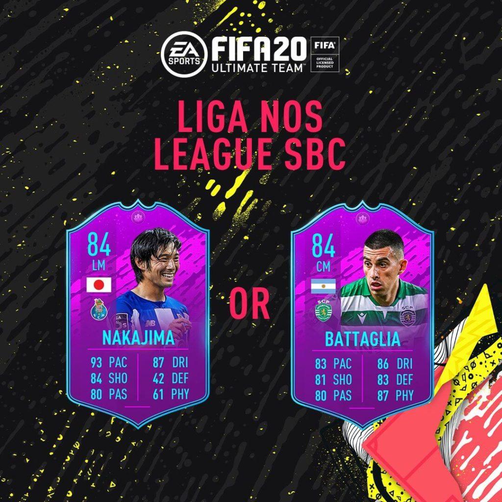 FIFA 20: Liga NOS league SBC