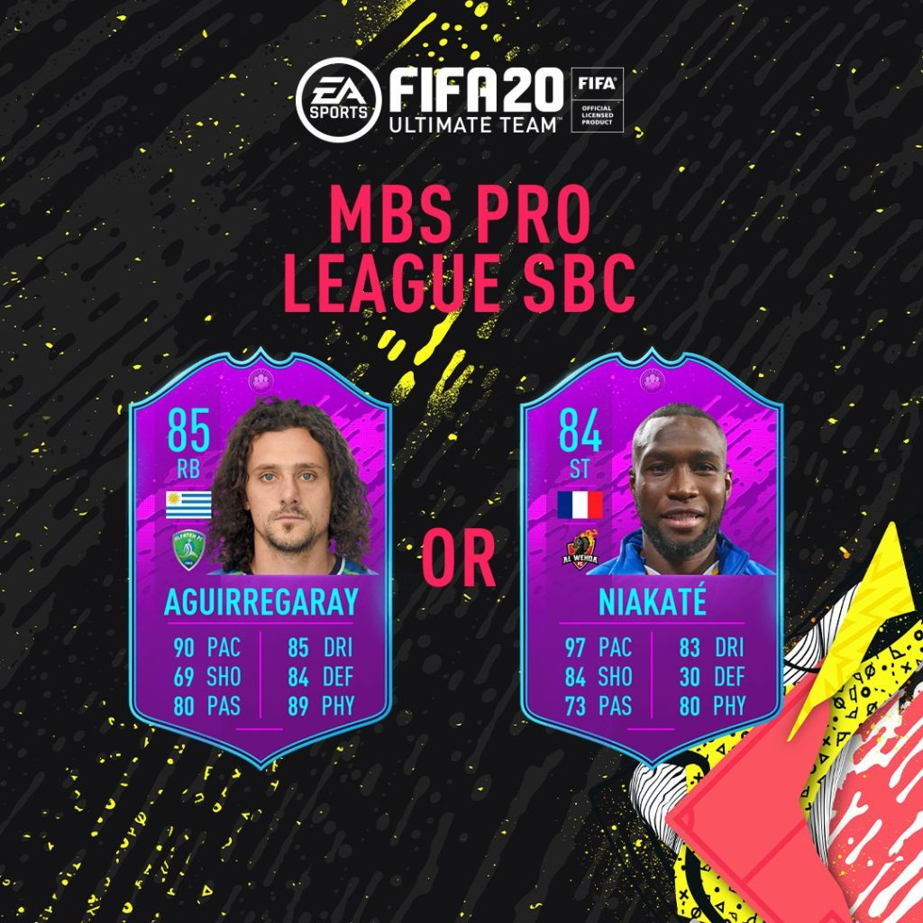 FIFA 20: Saudi PRO League SBC