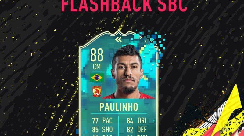 FIFA 20: Paulinho flashback SBC