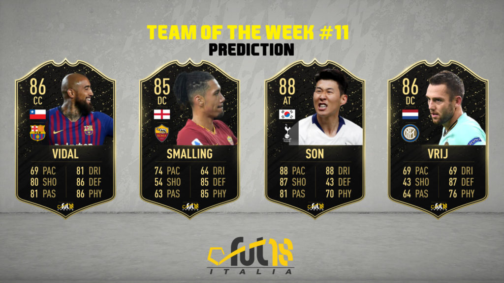 FIFA 20: TOTW 11 prediction