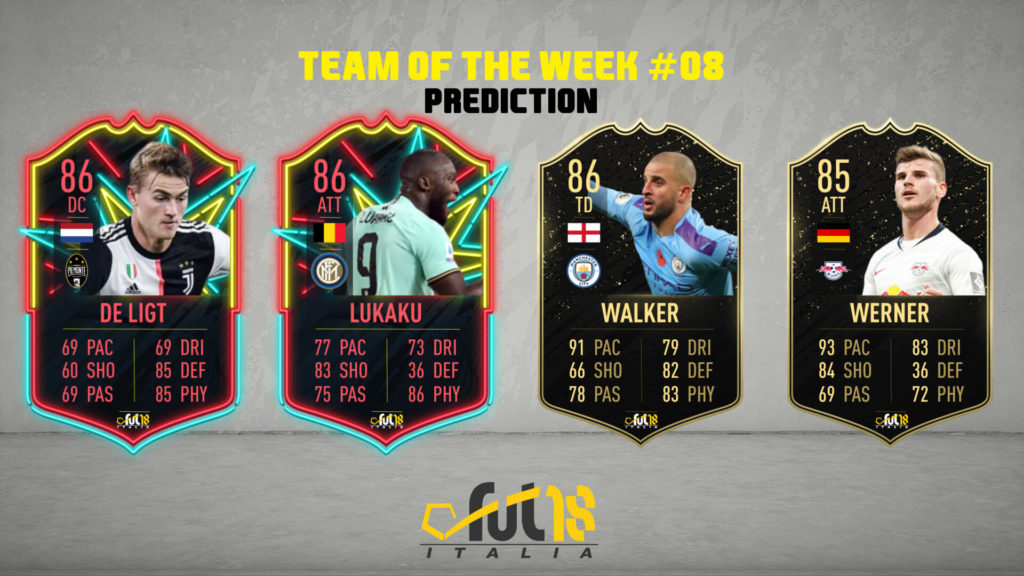FIFA 20: TOTW 8 prediction