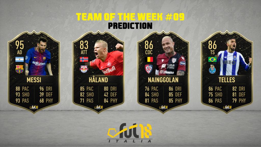 FIFA 20: TOTW 09 prediction