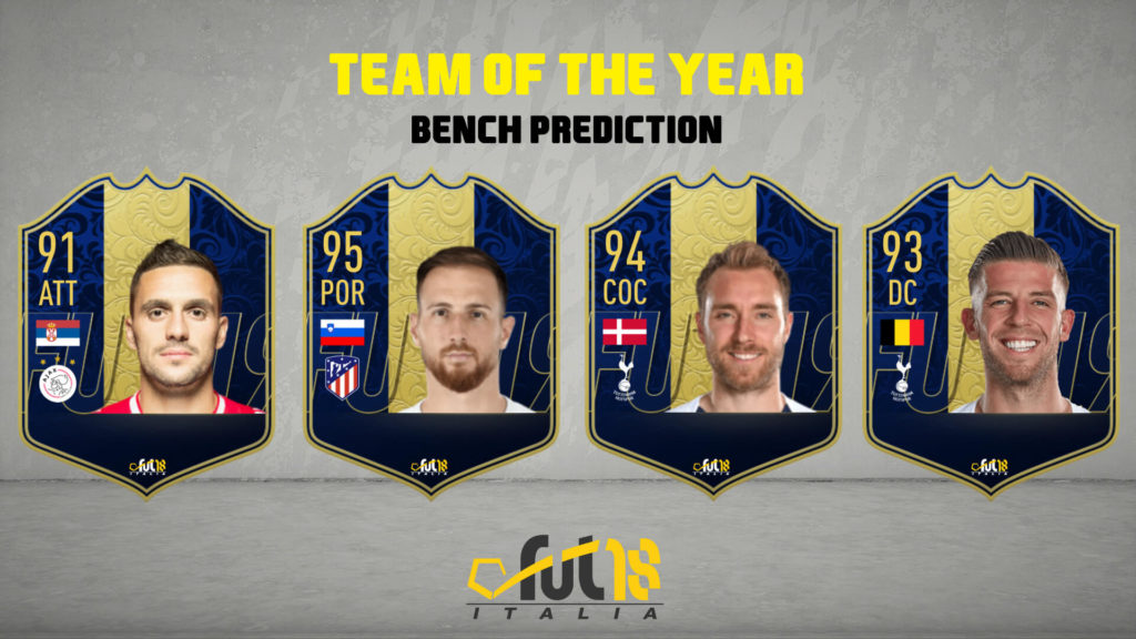 FIFA 20: TOTY bench prediction