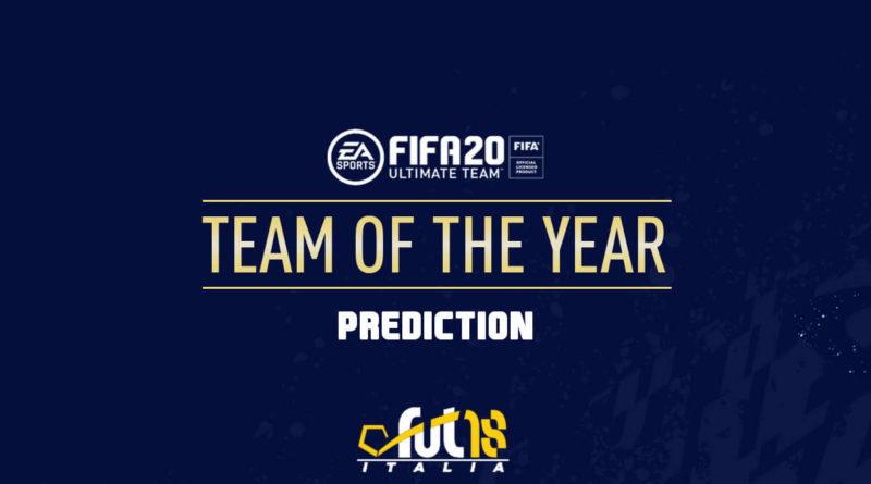 FIFA 20: TOTY prediction