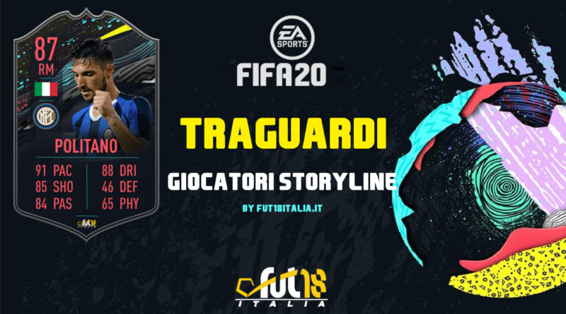 FIFA 20: traguardi e giocatori storyline