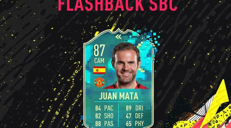 FIFA 20: Juan Mata flashback SBC