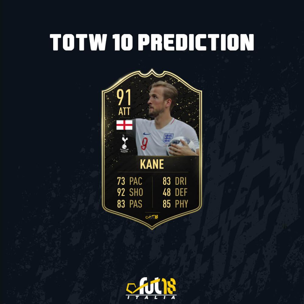 FIFA 20: Harry Kane 91 IF - TOTW 10 prediction