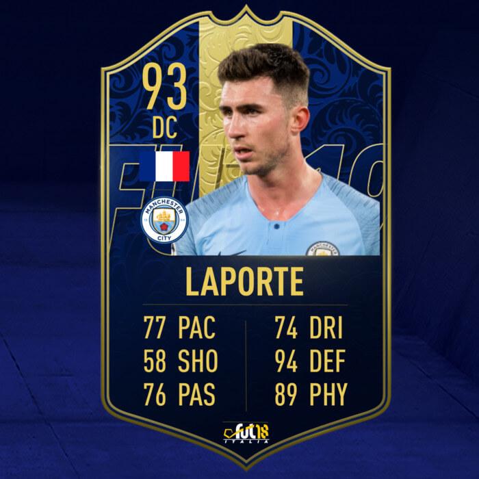 FIFA 20: Laporte TOTY prediction