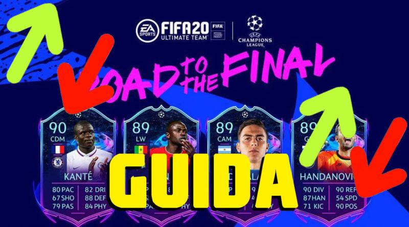 FIFA 20: Guida all'andamento dei prezzi delle card RTTF