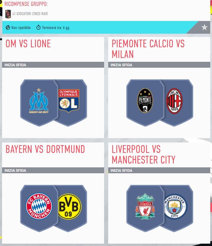 FIFA 20: SCR incontri principali del 7 novembre