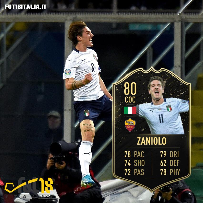 FIFA 20: Zaniolo TOTW 10 prediction