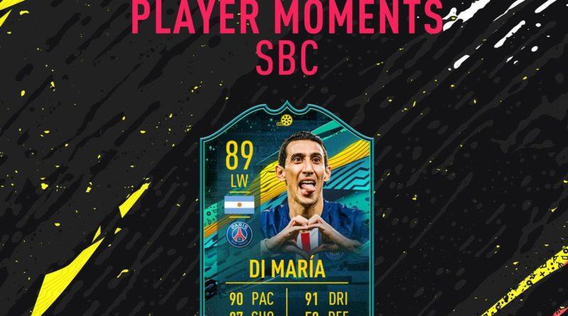 FIFA 20: Di Maria Player Moments SBC