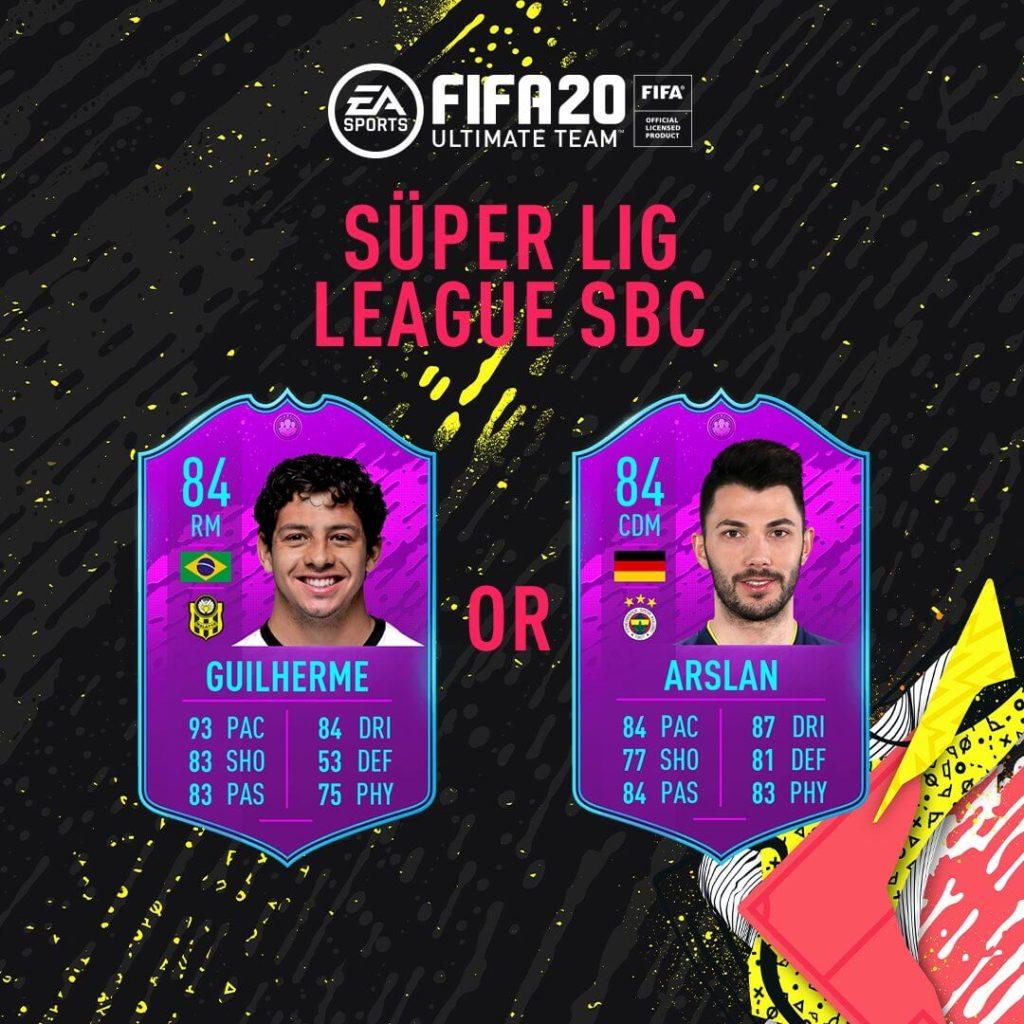 FIFA 20: Super Lig SBC