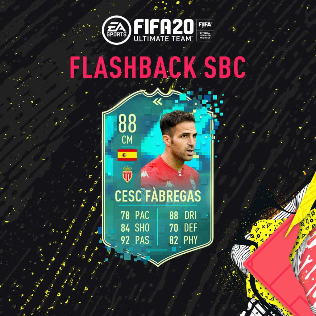FIFA 20: Fabregas flashback SBC