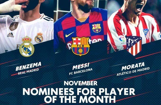 FIFA 20: candidati al POTM di novembre della Liga Santander