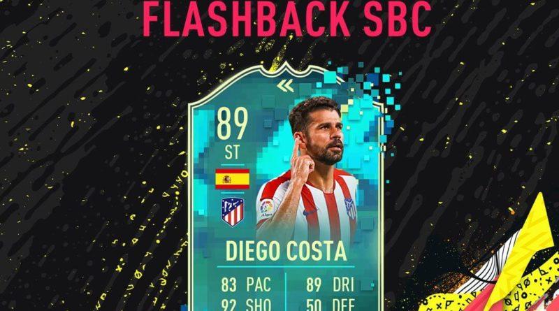 FIFA 20: Diego Costa flashback SBC