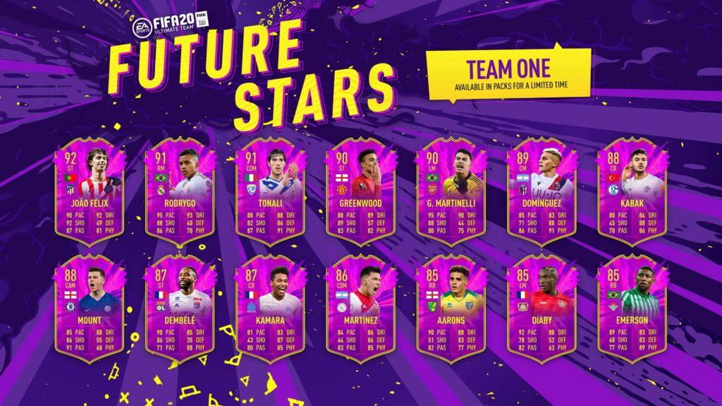 FIFA 20: Future Stars team 1