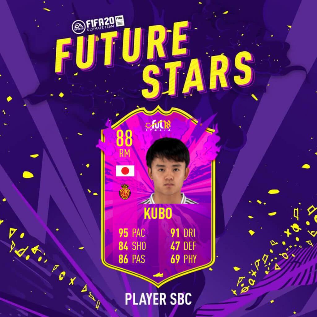 FIFA 20: Kubo Future Stars SBC