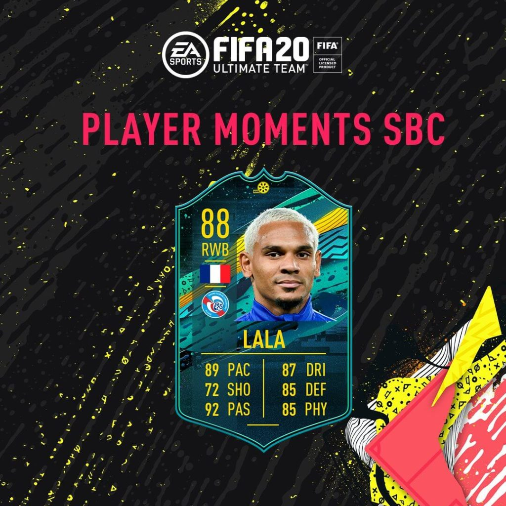 FIFA 20: Lala Player Moments SBC