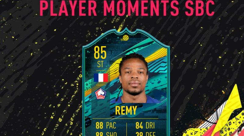 FIFA 20: Remy Player Moments SBC